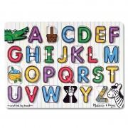 Melissa Doug jucarie educativa tip puzzle lemn Alfabet