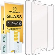 [2-PACK]-Mr Shield For Samsung Galaxy E5 [E500] [Tempered Glass] Screen Protector with Lifetime Replacement