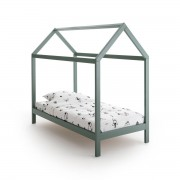 LA REDOUTE INTERIEURS Kinderbett Archi in Haus-Form, Kiefer massiv