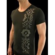 QZ Bodywear Club Arabesque Front T Shirt 260-54-400-1