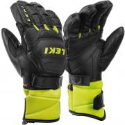 Leki Junior Glove RACE FLEX S black/ice lemon