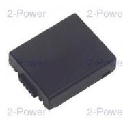2-Power Digitalkamera Batteri Panasonic 7.2v 800mAh (CGA-S002)