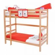 Dečiji krevet na sprat Daniel Natur My Love