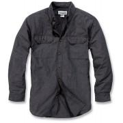 Carhartt Fort Solid Camisa de manga larga Gris M