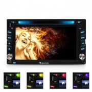 "Auna MVD-480 Autorradio con pantalla 6,2"" DVD CD MP3 USB SD"