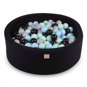 Meow Baby Black Ball Pit 40 cm