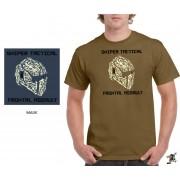"""Sniper Men """"Mask"""" T-shirt (Khaki)"""