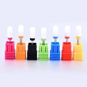 Ceramic Nail Drill Bit Rotary Burr Bits For Manicure Pedicure Electric Drill Electric Nail Files Nail Drill Bit Fancy Accessorie