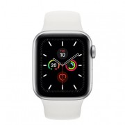 Apple Watch Series 5 40mm smartwatch Argento OLED GPS (satellitare)