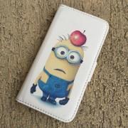 Toc Samsung Galaxy S4 Mini Husa Portofel Piele Eco Model Minions