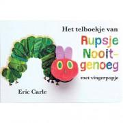 Rupsje Nooitgenoeg: Het telboekje van Rupsje Nooitgenoeg - Eric Carle