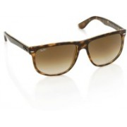 Ray-Ban Over-sized Sunglasses(Brown)