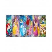 Puzzle 1000 Princesas Panoramico - Clementoni
