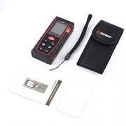 CNluca SW-T60 60M Medidor de Distancia de Mano Buscador de Rango Trena Telémetro Cinta métrica Herramienta de Distancia