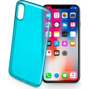 Cellular Line Colorciph8g Cover Custodia In Gomma Per Apple Iphone X Colore Verde - Colorciphxg