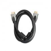 Digitus Connection cable HDMI Highspeed Ethernet 1.4, GOLD 2m, blak/grey PREMIUM