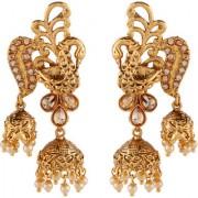 Pourni exclusive Bahubali reverse AD Jhumka Earring - DLER96