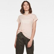 G-Star RAW Graphic 23 Caper Knotted Top