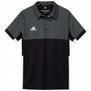 Adidas T16 Climacool Polo Jeugd Jongens Black DISCOUNT DEALS