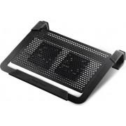 Hlađenje za notebook Cooler Master NotePal U2 Plus, do 17'', crno