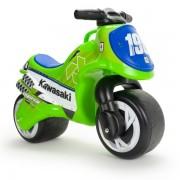 Motocicleta fara pedale Neox Kawasaki green - Injusa