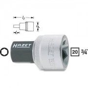 HAZET Llave de vaso destornillador 1010-17 . Cuadrado hueco 20 mm (3/4 pulgadas) . Perfil hexagonal interior . 17 mm