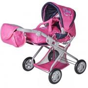 Kolica za lutke Kyra Flower Power pink Knorr Toys