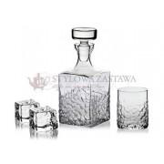 Krosno Komplet do whisky karafka + 6 szklanek Teroso Krosno