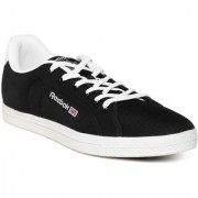 Reebok Classic Men Black Court Sneakers