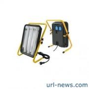 *Leuchte Power Jet-Light 3x36W IP54 5m H07RN-F3G1,5 Gestell gelb
