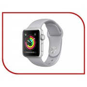 Умные часы APPLE Watch Series 3 42mm Silver with Fog Sport Band MQL02RU/A