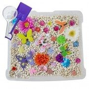 Discovery Box For Sensory Play Butterfly Garden Theme