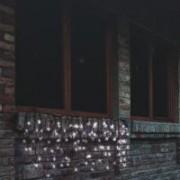 Home hideg fehér LED-es sorolható fényfüggöny, 4m- es (KTF 200C/WH)