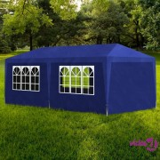 vidaXL Šator za zabave 3 x 6 m plavi
