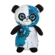 Детска плюшена играчка - Панда с пайети, 14см., 391082