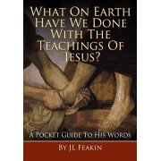 What On Earth Have They Done With the Teachings of Jesus. A Pocket Guide to His Words, Paperback/J L Feakin