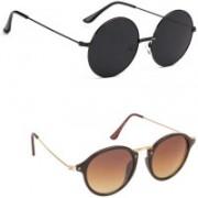 zarsha Oval, Round Sunglasses(For Boys & Girls)