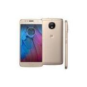 Smartphone Motorola Moto G5s XT1792 Ouro com 32GB, Tela de 5.2'', Dual Chip, Android 7.1, 4G, Câmera 16MP, Processador Octa-Core e 2GB de RAM