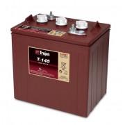 Batería de plomo ácido abierto Trojan T-145 6V 260Ah Ciclo profundo