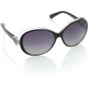 Polaroid Over-sized Sunglasses(Violet)