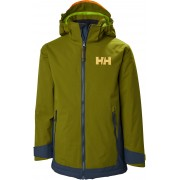 Helly Hansen Hillside Skijacke, Fir Green 140
