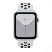 Смарт часовник Apple Watch Nike Series 5 GPS (40mm) Silver Aluminium Case with Pure Platinum/Black Nike Sport Band, MX3R2BS/A