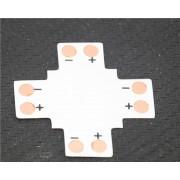 Elosztó elem , PCB , 3528-as LED szalaghoz , L, T vagy X elosztáshoz