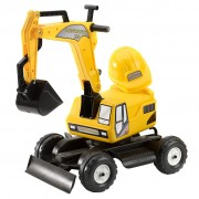 FALK Constructor Ride-on Excavator with Helmet 110