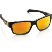 Oakley JUPITER SQUARED Rectangular Sunglass(Orange)