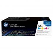 HP 125A Pack Ahorro Tóner Original Laserjet Cian/Magenta/Amarillo