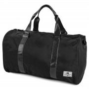 Lazy Bear Sac de voyage Duffel Bag Leo noir