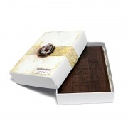 Placheta lemn personalizata cu mesaj dragoste