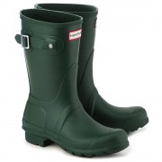 Hunter Original Short - Kalosze Damskie - WFS1000RMA HUNTER GREEN