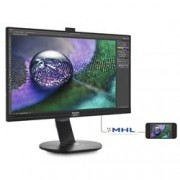 "PHILIPS MONITOR 27"", LED IPS 4K, 16:9, 3840X2160, 350 CD/M, 5MS, VGA, HDMI, DP, MINI DP, WEBCAM, MULTIMEDIALE"